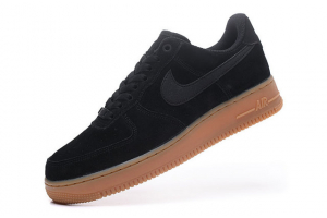 NIKE Air Force 1'07 SE F Noir Marron AA0287-002