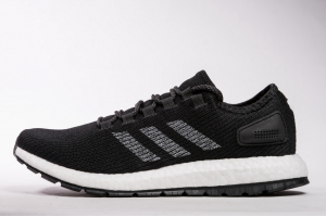 "Adidas Pure Boost ""Black White"" S80795"