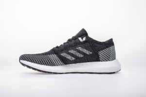 "Adidas Pure Boost GO ""Core Black/Grey/White"" B37803"