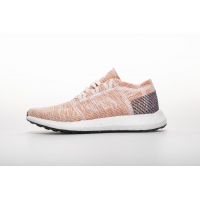 "Adidas Pure Boost GO ""Cloud White/Cloud White/Mystery Ink"" B75666"