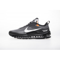 "Off-White x Nike Air Max 97""All Black""AJ4585-001"