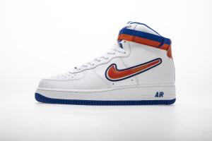"Nike Air Force 1 High Sport NBA ""Knicks"" AV3938-100"
