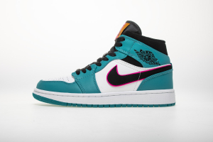 "Air Jordan 1 Mid South Beach ""Turbo Green"" 852542-306"