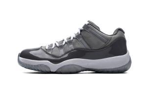 """Air Jordan 11 Low """"Cool Grey""""528895-003"""