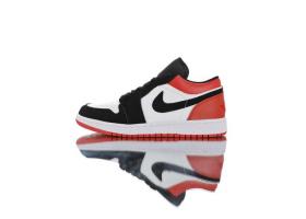 """Air Jordan 1 Low""""Black Toe"""""""