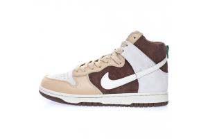 Nike SB Dunk High Premium Light Chocolate