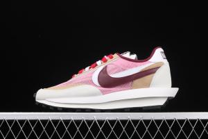 Sacai x Nike LVD Waffle Daybreak Swoosh BV0073-500