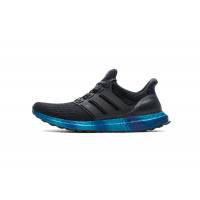 Adidas Ultra Boost 4 0 Core Black Blue FV7281