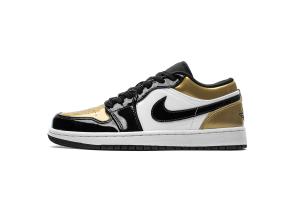 Air Jordan 1 Low Gold Toe CQ9447-700