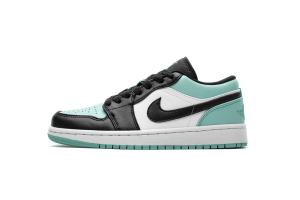 Air Jordan 1 Low Emerald Toe 553558-117