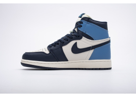 Air Jordan 1 Retro High OG    Obsidian University Blue 555088-140