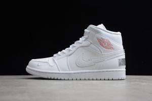 Air Jordan 1 Mid Nike Swoosh On Tour CW7589-100