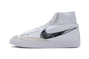 Nike Blazer Mid '77 Black White CW7580-100