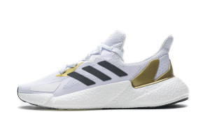 adidas  Boost White Black Metallic Gold FY2347