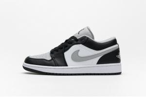 Air Jordan 1 Low Black White Grey 553558-039
