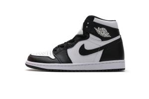 Air Jordan 1 Retro High OG Black White 555088-010