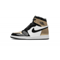 Air Jordan 1 Retro High OG Gold Toe 861428-007